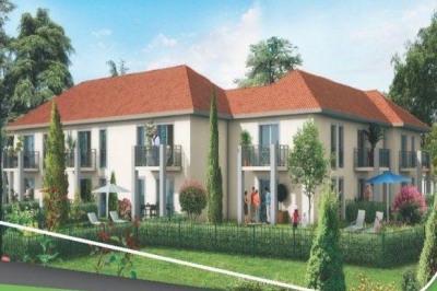 Appartement neuf T2 46m² avec jardin et terrasse