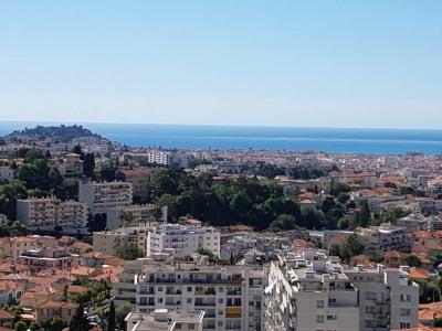 Nice vue mer panoramique 4 pièces 114 m² terrasse