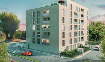 T2 neuf 38 m² roseraie