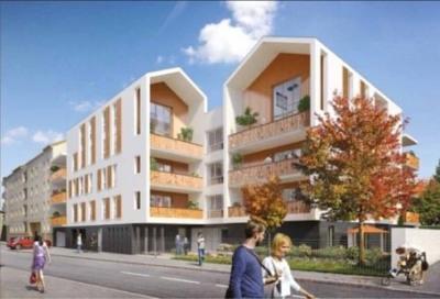 Appartement toit terrasse en duplex de type 3 à decines (69