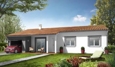 Maison  4 pièces + Terrain 1200 m² Bretx par CONCEPTUALYS