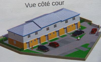 APPARTEMENT T3 en DUPLEX - Résidence privée de logements T3
