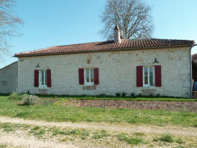 Stone-built property 3 rooms Bourlens