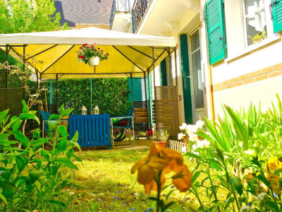 Jardin et terrasse plein sud pour ce charmant 3 pièces