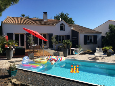 Maison 3 chambres avec piscine