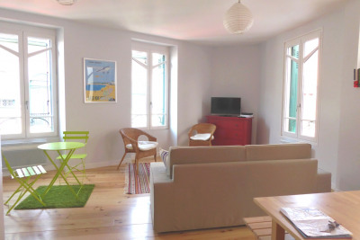 Saint jean de luz centre historique - appartement 3/4 pièces
