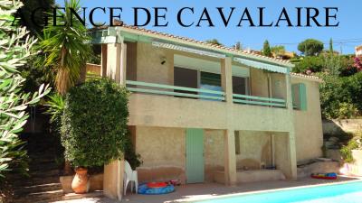 Villa T 4 sur Cavalaire avec vue mer