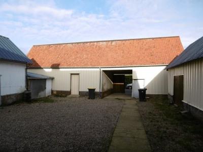 Maison picarde 1 chambre bureau garage dépendances sur 874m² de