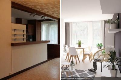 Appartement 3 pièces 72 m² Poissy