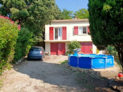 Maison 3 pièces avec jardin et garages