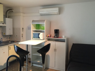 Studio Cabine meublé à louer