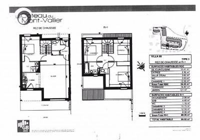 Villa neuve T5 en duplex 96.92m² colomiers centre