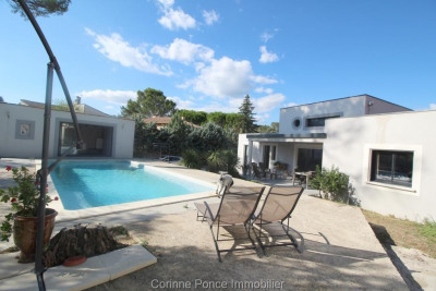 Vente villa contemporaine d'architecte