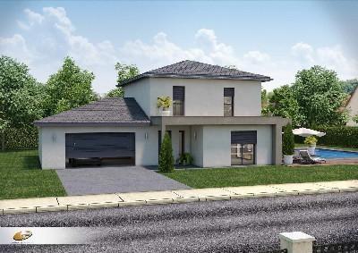 Maison  6 pièces + Terrain 800 m² Chaponnay par DEMEURES RHONE ALPES