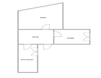 Sale - Empty room/Storage - 39.45 m2 - Levallois Perret - Photo