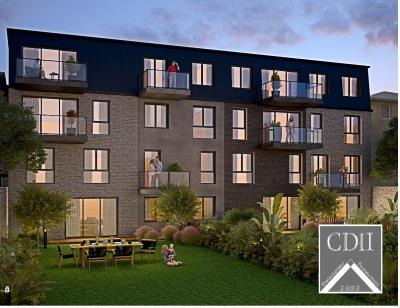 5 pièces en Duplex de 130m² avec Terrasse 23m² et jardin de 190m