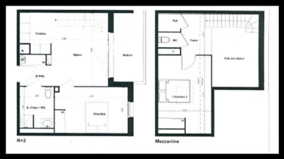 Appartement Gujan Mestras 3 pièce (s) 60m²