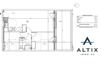 Appartement Tresses 3 pièce (s) 59 m²