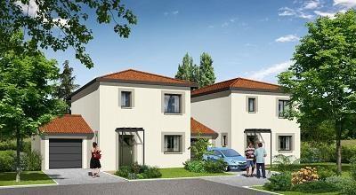 Maison  5 pièces + Terrain 200 m² Douvaine (74140) par Compagnie de Construction