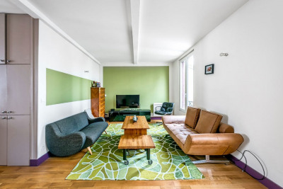 Beau triplex de 124 m²