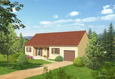 Maison  5 pièces + Terrain 600 m² Til Châtel par Top Duo Dijon