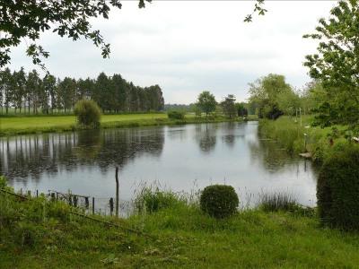 Terrain de loisir étang