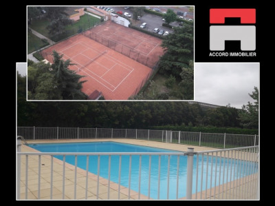 Appartement T3/4 Piscine Tennis 31100 Toulouse