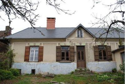 SECTEUR OISEMONT Corps de ferme de plain pied comprenant entrée, cuisine, séjour/salon avec cheminée, bu ...