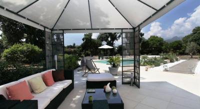Villa, piscine chauffée à 5 minutes à pieds de la plage Solaro