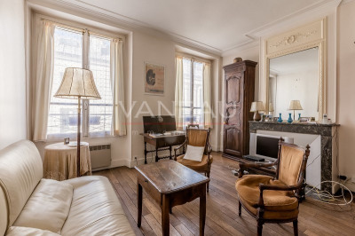 Sale - Apartment 3 rooms - 49.26 m2 - Paris 4ème - Photo