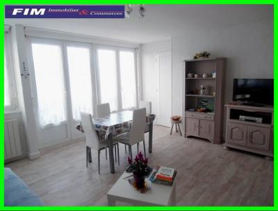 Appartement 49 m² au Tréport 2 chambres très bon état
