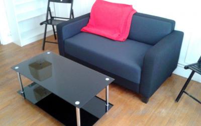 2 pièces meublé 35m²