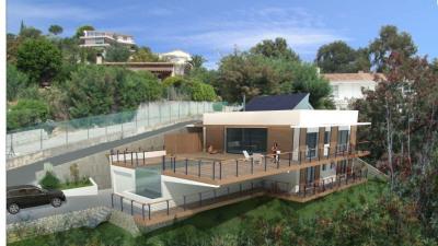 Terrain Mandelieu La Napoule 2678 m². VUE MER