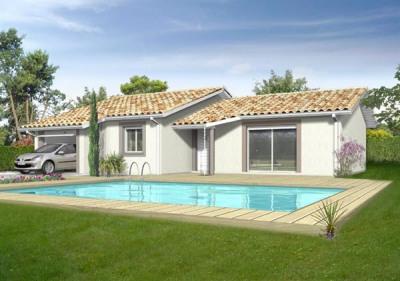 Maison  3 pièces + Terrain 710 m² Saint Magne de Castillon (33350) par IMMO CONSTRUCTION