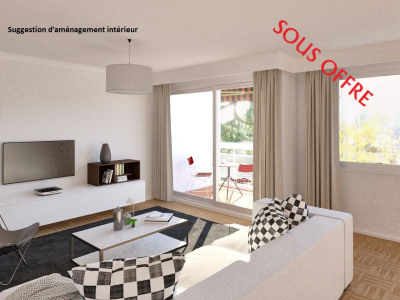 Appartement T5 102 m² avec balcon au Point du jour - 69005