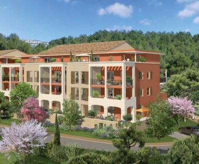 T2 dans résidence neuve avec terrasse et pkgs