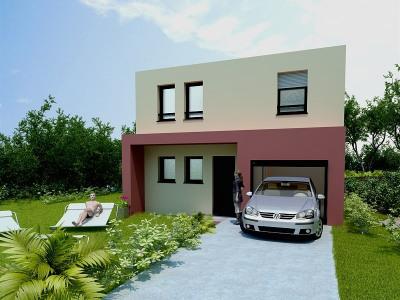 A vendre à Palau Del Vidre Maison 3 faces + terrain
