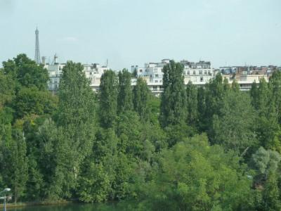 Magnifique Studio vue Seine et Tour Eiffel