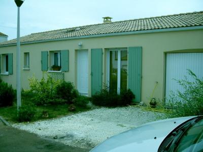 Maison 3 chambres + garage + jardin