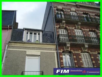Appartement centre ville de Mers les Bains séjour + 2 chambres