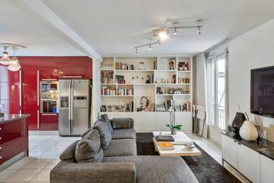 Appartement 2 pièces rue Barbette
