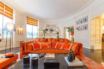Location vacances - Appartement 8 pièces - 360 m2 - Paris 16ème - Photo