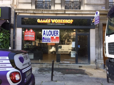 Location Boutique Paris 8ème