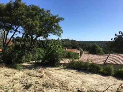 Villeneuve les avignon terrain constructible à vendre