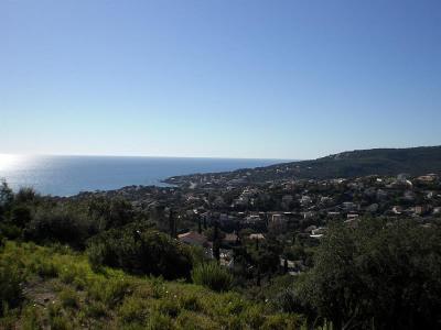Terrain à bâtir - vue mer - les issambres