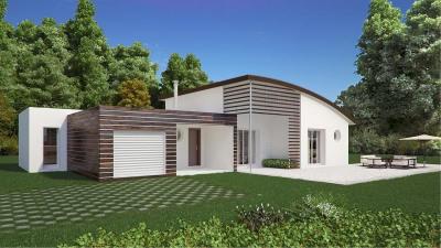 Maison contemporaine à construire