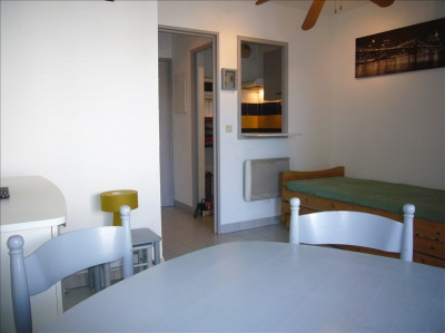 Studio cabine à vendre, LA GRANDE MOTTE - 1 pièce (s) - 22 m²