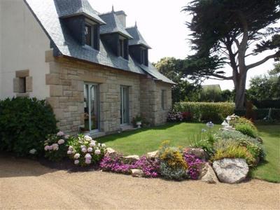 Vente - Maison en pierre 6 pièces - 120 m2 - Port Blanc - Façade coté mer - Photo