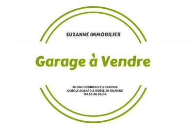 GRENOBLE Eaux Claires, Rue Joseph BOUCHAYER Garage à vendre