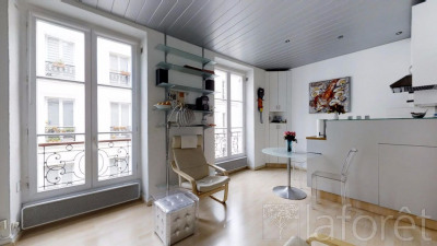 Vente - Appartement 2 pièces - 27,09 m2 - Paris 10ème - Photo
